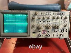 Vintage Tektronix 2211 50 Mhz Two Channel Digital Storage Oscilloscope Dso